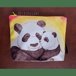 Cosmetiquero con fuelle Dos Pandas