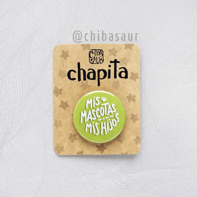 Chapita Mis Mascotas