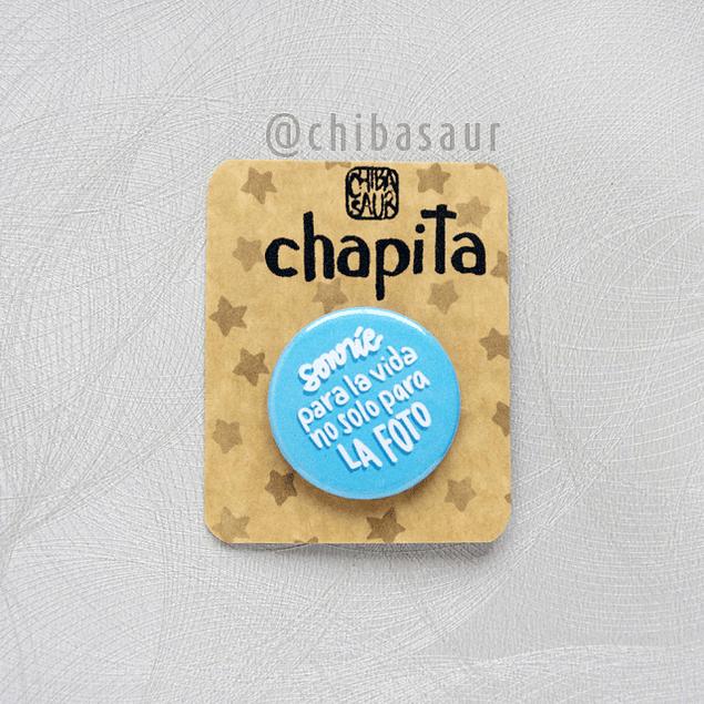 Chapita Sonríe para la vida