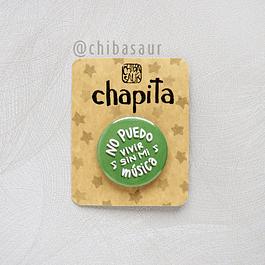 Chapita Sin música..
