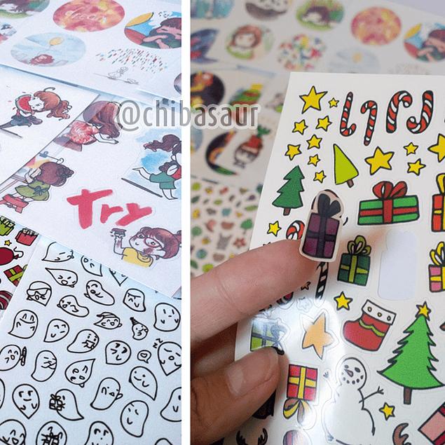 Set de stickers 1