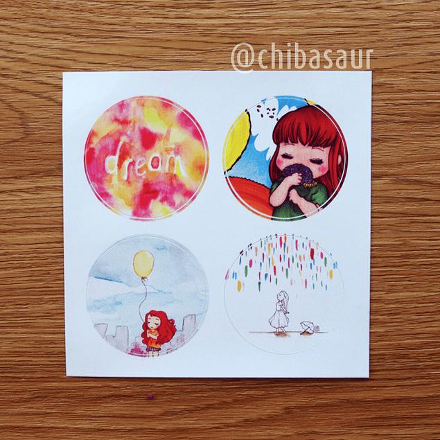 Set de stickers 2
