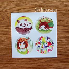 Set de stickers 3