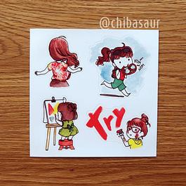 Set de stickers 5