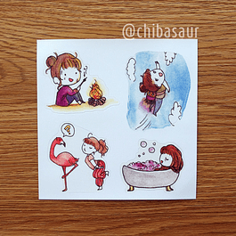 Set de stickers 6