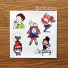 Set de stickers 7