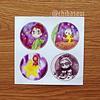 Set de stickers 8