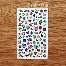 Set de stickers 10