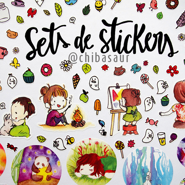 Set de stickers 10