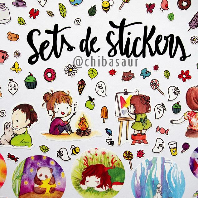 Set de stickers 6