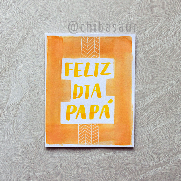 Tarjeta Papá 1