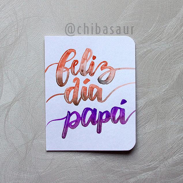 Tarjeta Papá 2