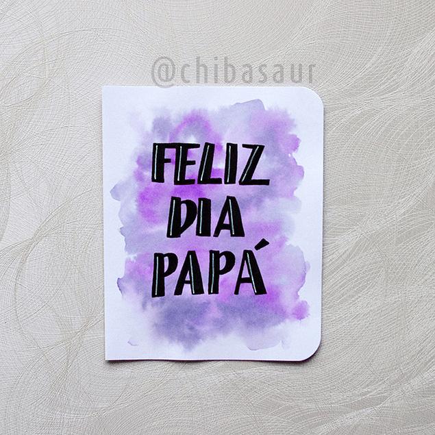 Tarjeta Papá 3