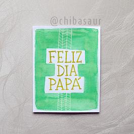 Tarjeta Papá 5