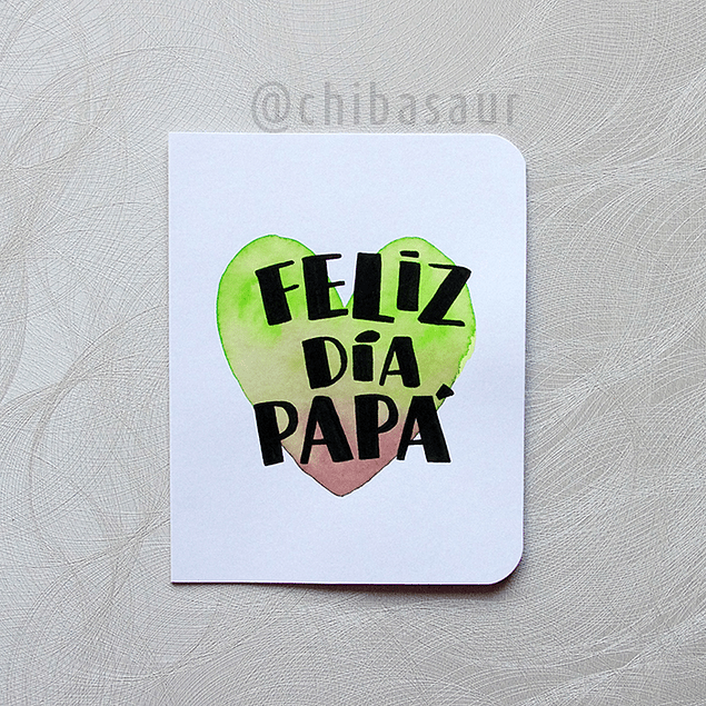 Tarjeta Papá 7