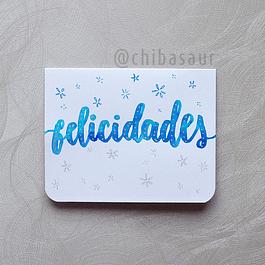 Tarjeta Felicidades 3