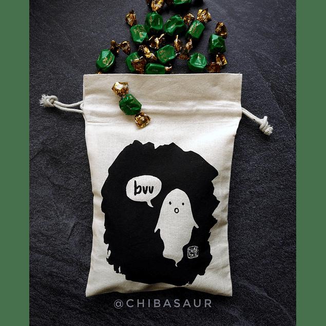 Saquito para dulces Halloween Fantasma