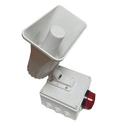 Alarma comunitaria 1 tono 30 Watts 118 DB