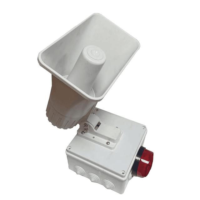 Alarma comunitaria 2 tonos 30 Watts 118 DB