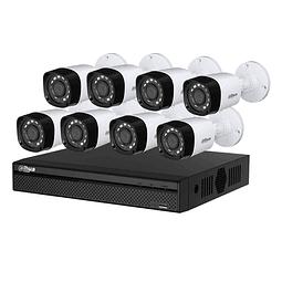 Instalación KIT CCTV 8 cámaras