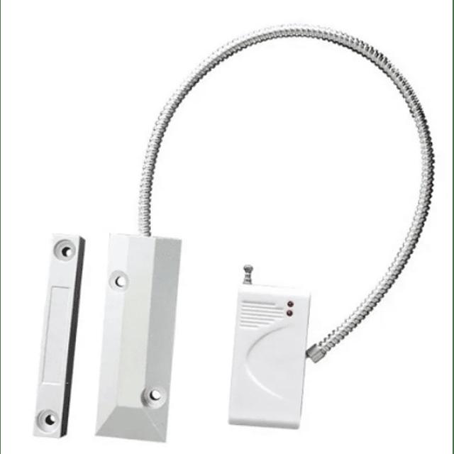 Sensor de cortina metálica inalámbrico