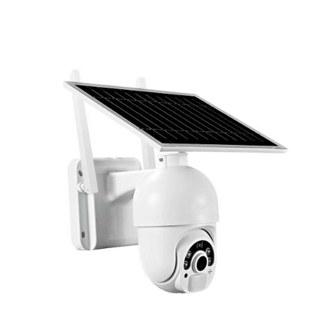 Cámara IP WiFi 2MP PTZ, Heimdall IR 20M Con panel solar separado 4G/LTE