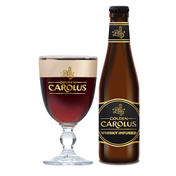 12 Pack - Gouden Carolus Whisky Infused – 33 cl