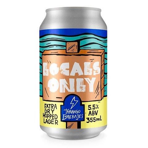 LOCALS ONLY 355cl (Solo CCP)