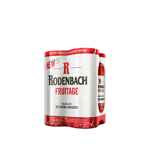 4 Pack Rodenbach Fruitage Latas