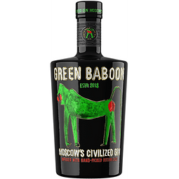 Green Baboon Moscow's Civilized Gin 700cc