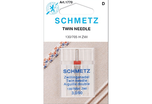 AGUJA SCHMETZ DOBLE 3MM