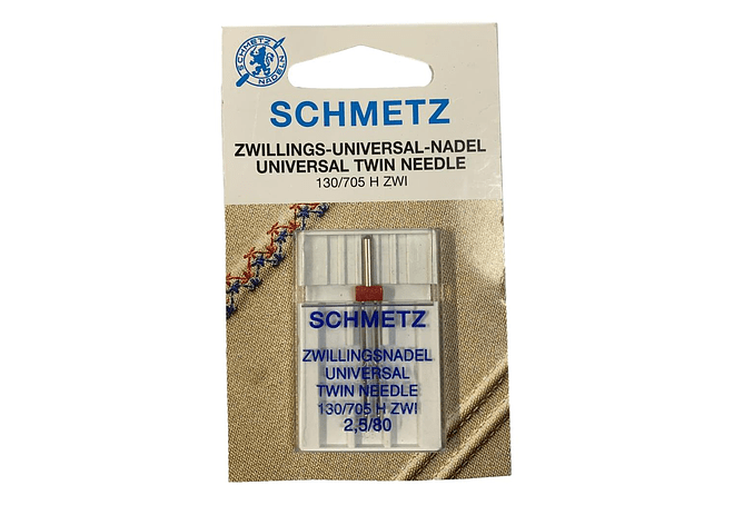 AGUJA SCHMETZ DOBLE 2.5 MM