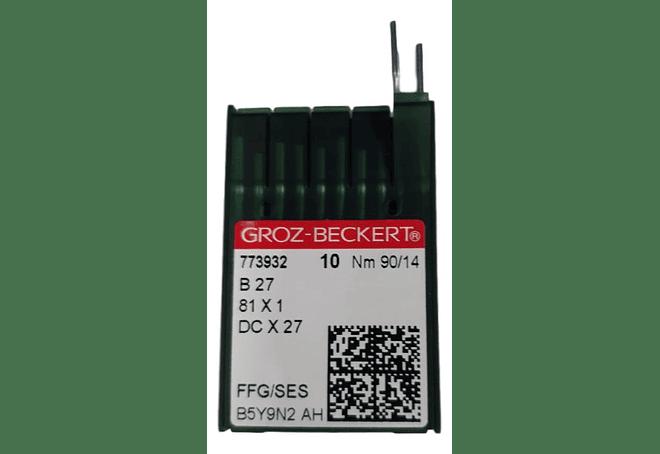 AGUJA GROZ BECKERT DCX27 - OVERLOCK