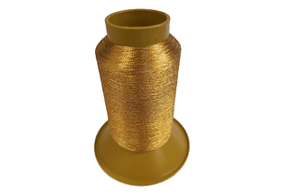 HILO BORDAR METALICO COLOR ORO 1000 MT LUMINA