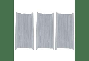Elastico blanco de 5 mm x 10 mt -  Pack tres unidades