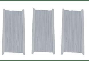 Elastico blanco de 6 mm x 10 mt -  Pack tres unidades