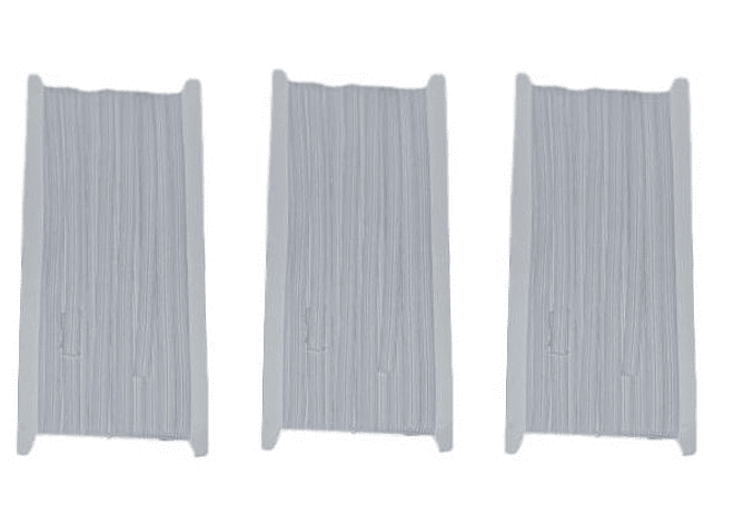 Elastico blanco de 7 mm x 10 mt -  Pack tres unidades