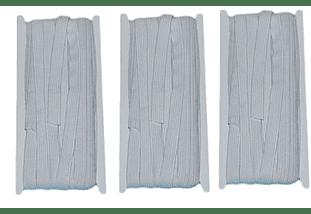 Elastico blanco de 10 mm x 10 mt -  Pack tres unidades