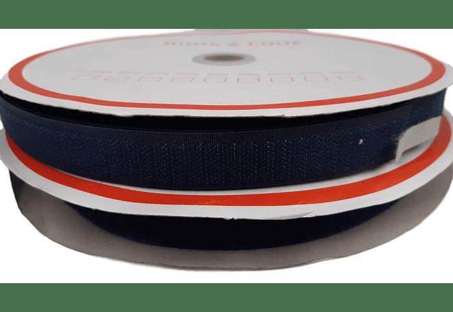 Velcro Azul Marino  20 mm x 25 mt