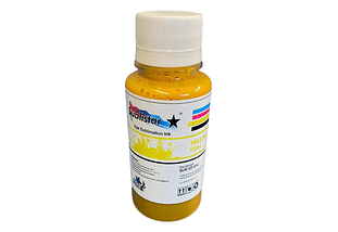 TINTA DE  SUBLIMACION  YELLOW 100 CC