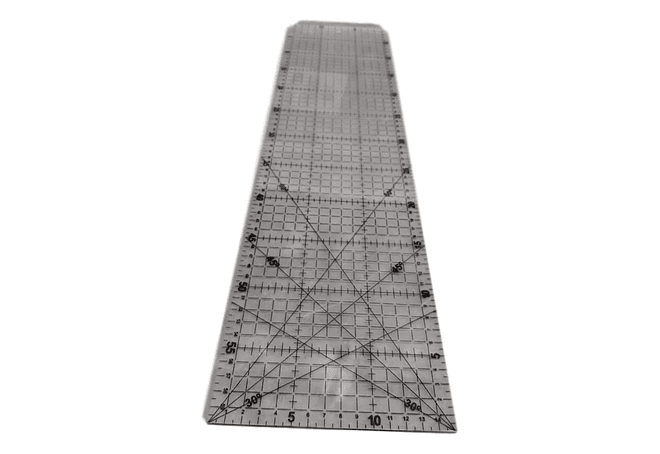 REGLA PATCHWORK 60 X 15 CM