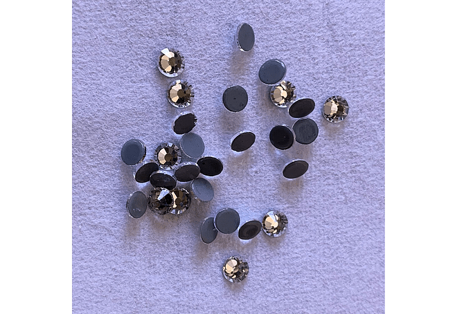 Cristales Hot-Fix - 6mm (SS30) - 288 piezas