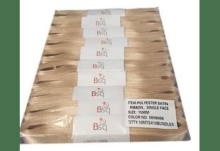 CINTA BEIGE BSQ 15 MM X 100 MT
