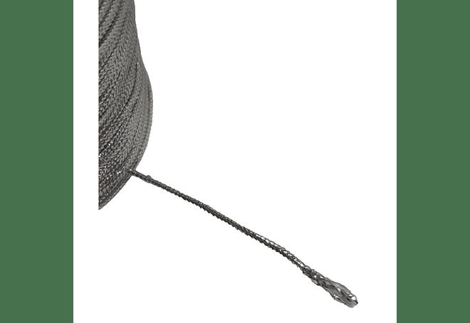 CORDON 1.0 MM X COLOR PLATA X 100 MT