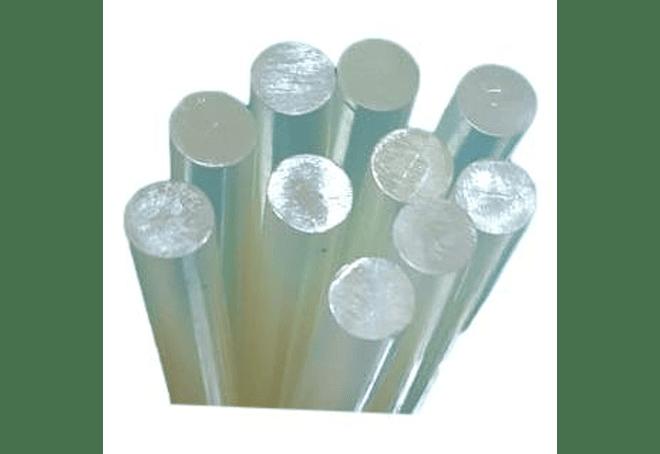 Silicona en barra x kilo - 23 cm x 7 mm de diametro
