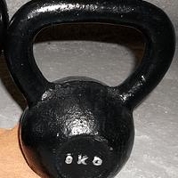 Kettlebell, Pesa Rusa de 8 Kgs. CrossFit, Entrenamiento Funcional