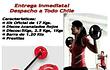 Bodypump Kit Profesionales 17 Kgs Discos Acanalados Rojos