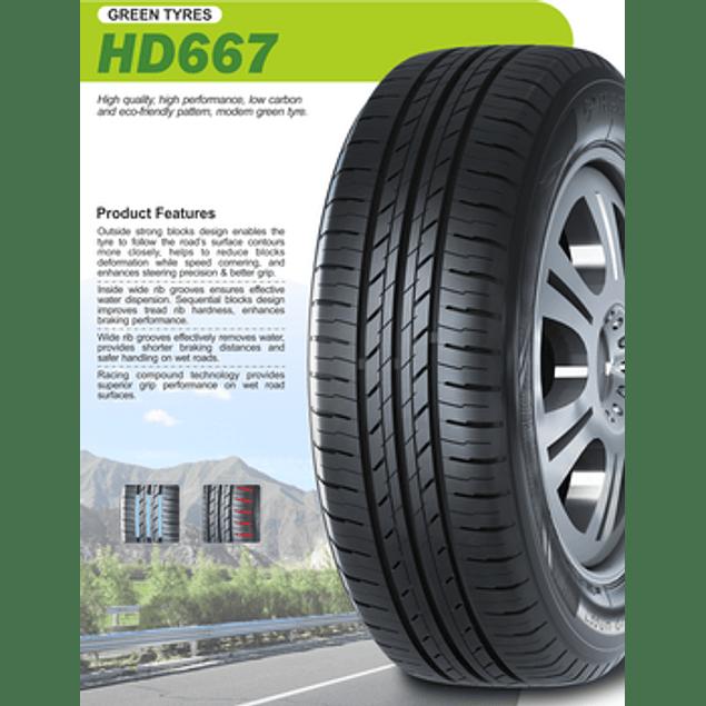 NEUMATICO 185/60R14 HAIDA HD667