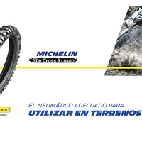 NEUMATICOS 110/90R19 MICHELIN STARCROSS 5