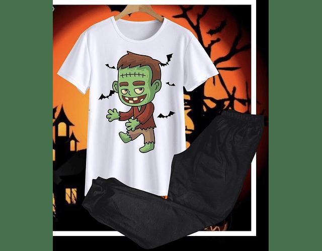 Pijama Frankenstein